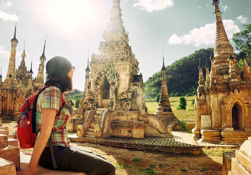 Thailand SE Asia female traveler RF