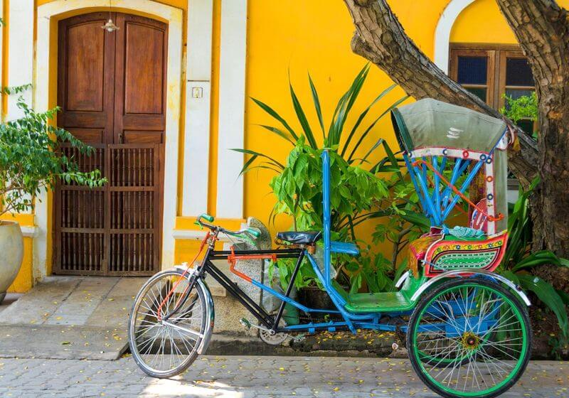 Pondicherry India bike RF