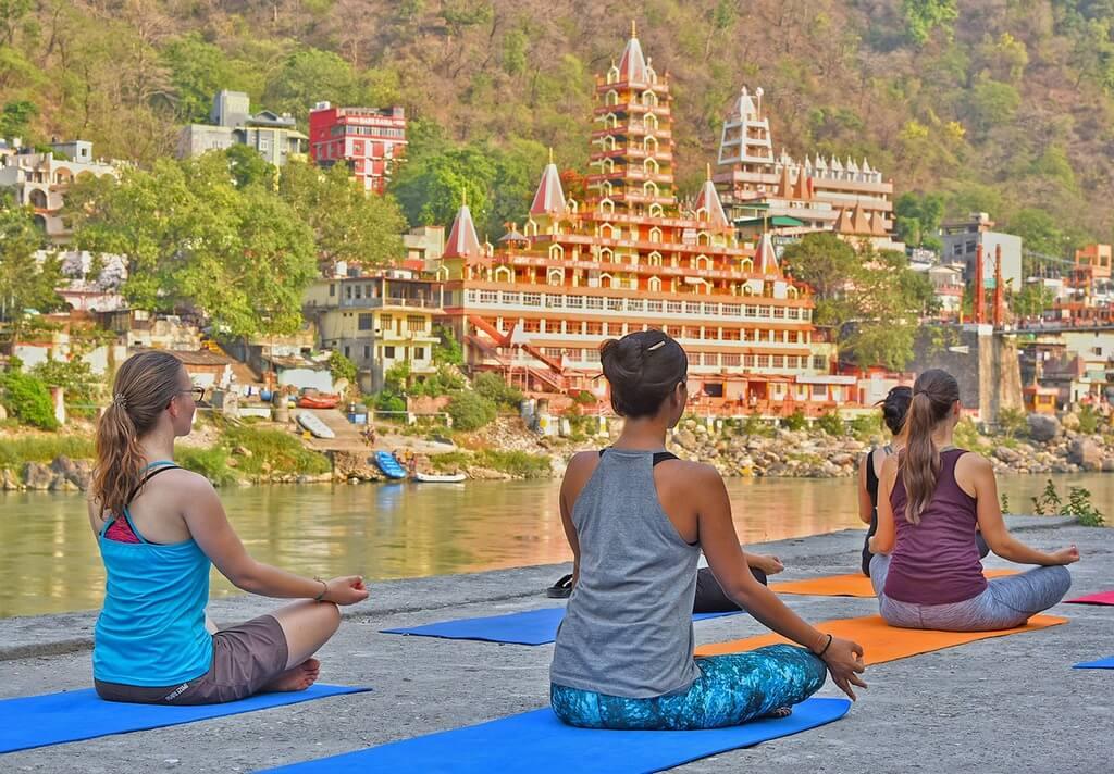 Rishikesh India Yoga RF