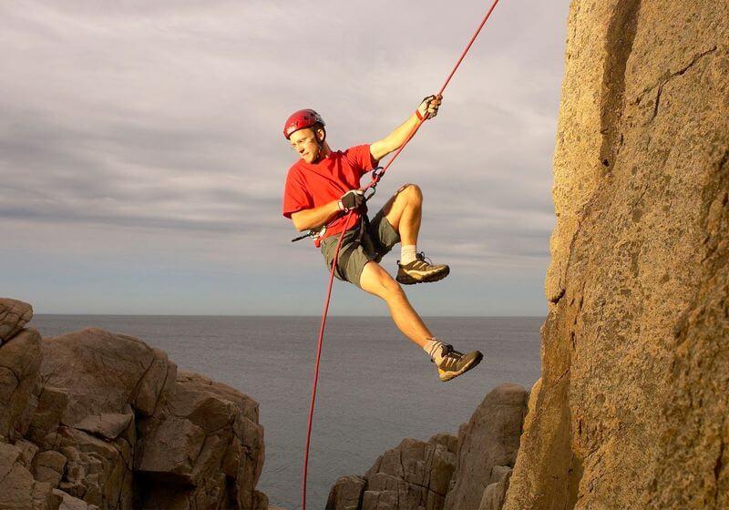 Rock climbing RF