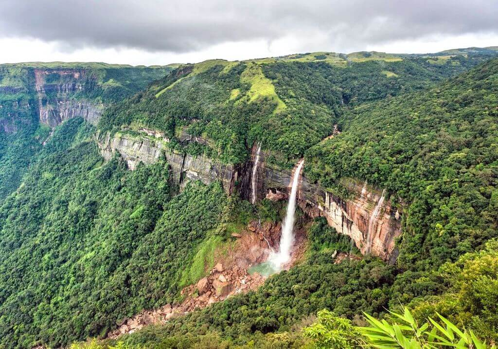 Nohkalikai Falls India RF