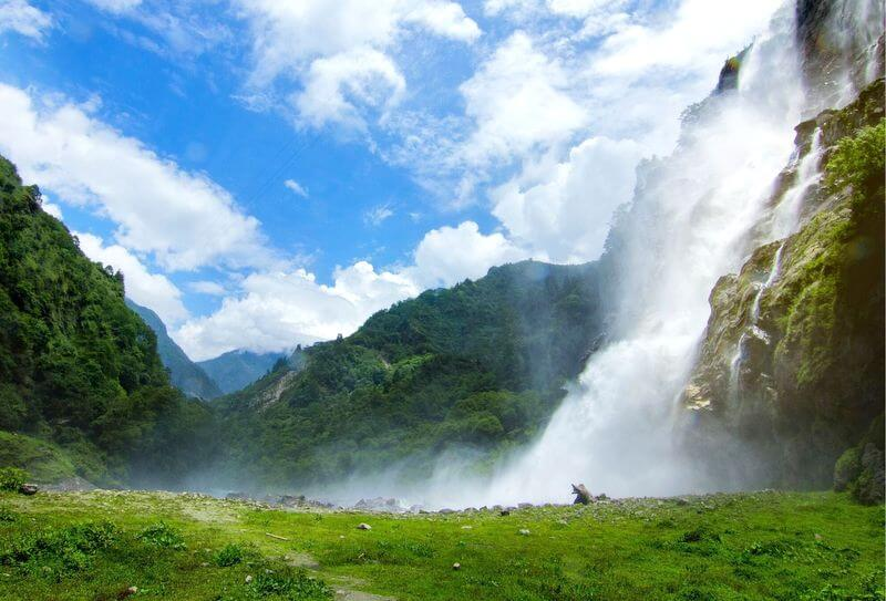 Nuranang Falls India RF