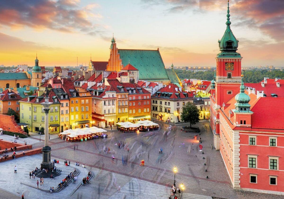 Warsaw Poland RF