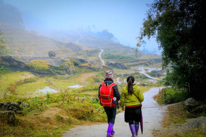 Trekking Black H'Mong People Vietnam