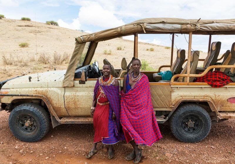 Kenya African safari Massai