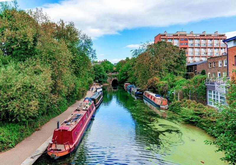 Regents Canal London RF