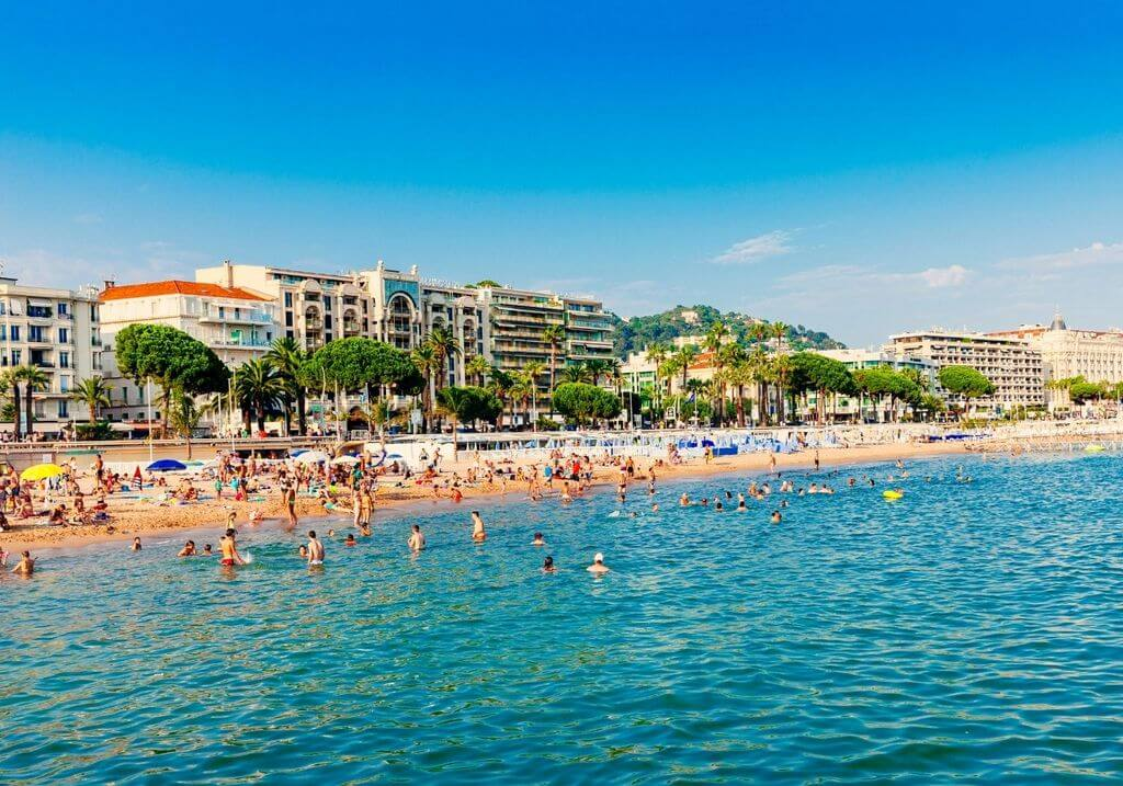 Cannes Beach France RF