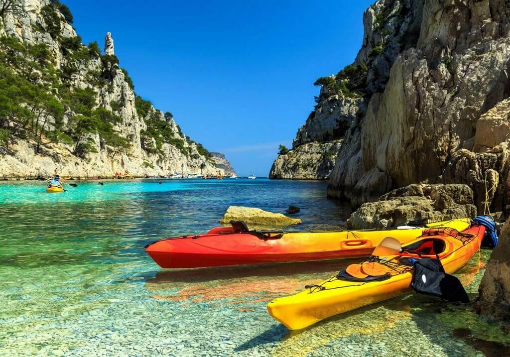 Kayak Cassis France RF