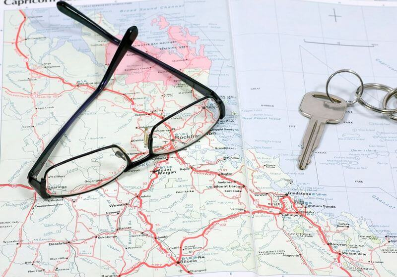 Map keys roadtrip RF