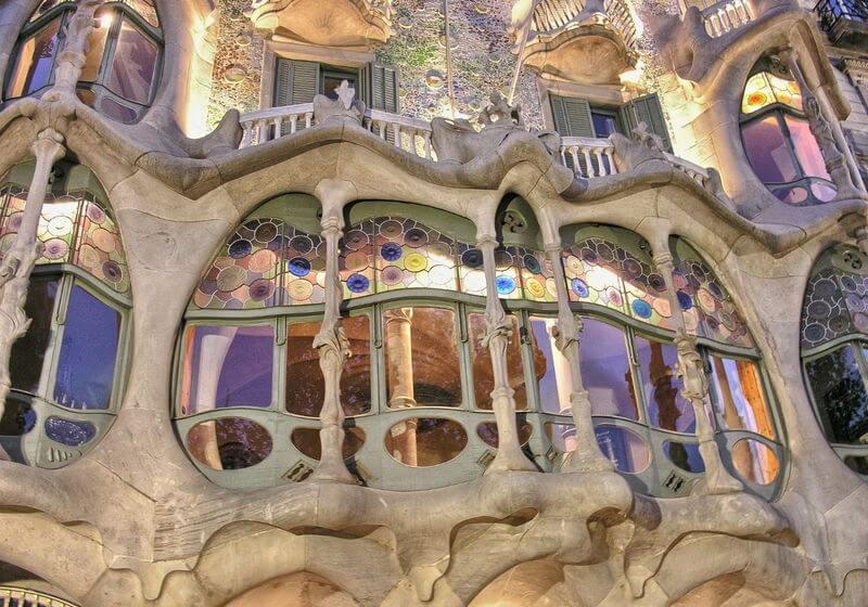 Casa Mila Barcelona Spain RF
