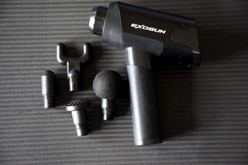 ExoGun Portable Percussion Massage Gun Device for Travel