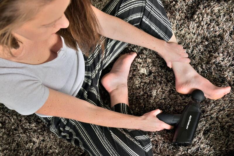 ExoGun Portable Percussion Massage Gun Device for Travel