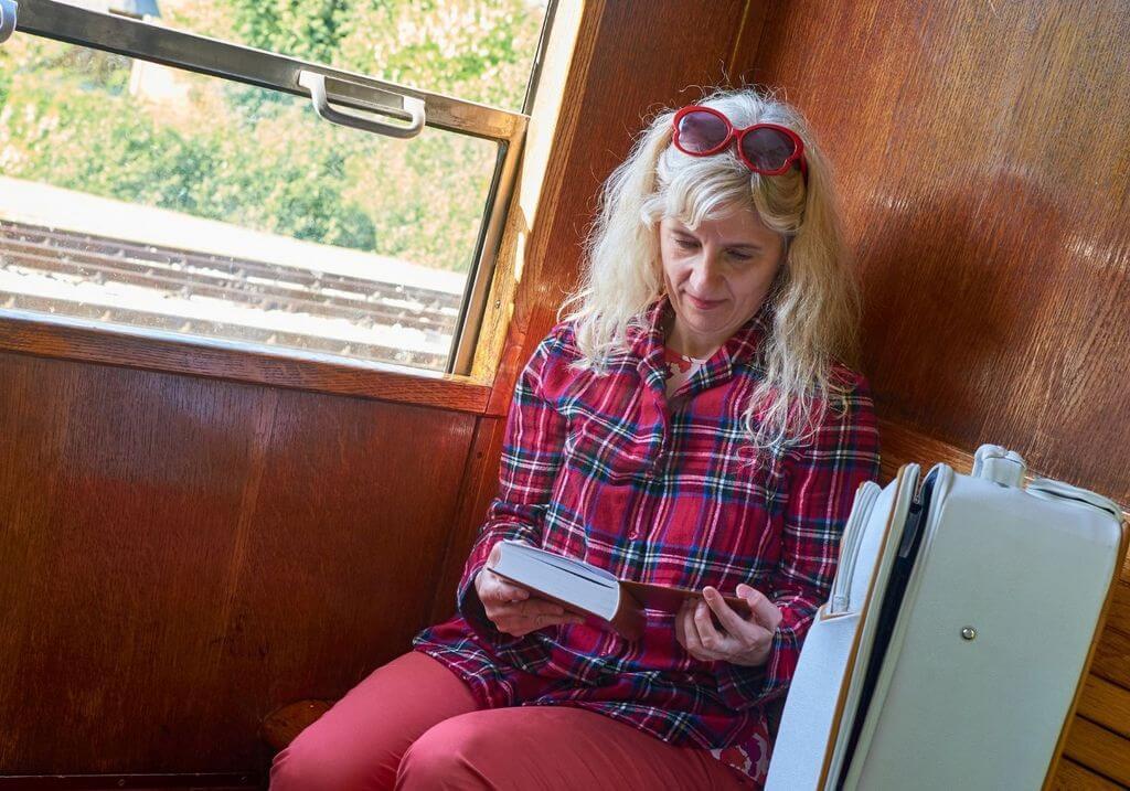 Read book train RF