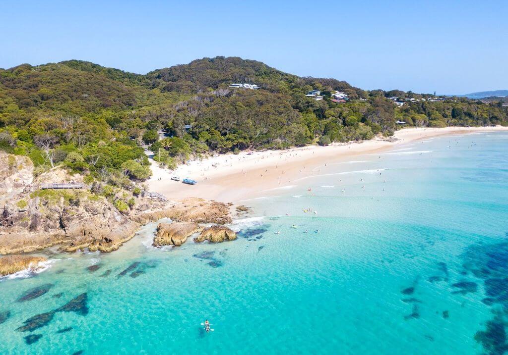 Byron Bay beach Australia RF