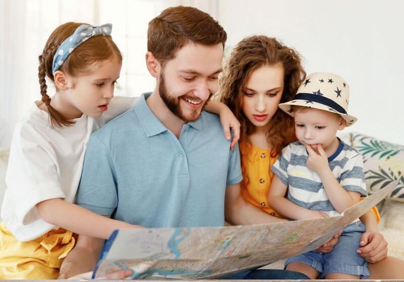 Family travel planning RF