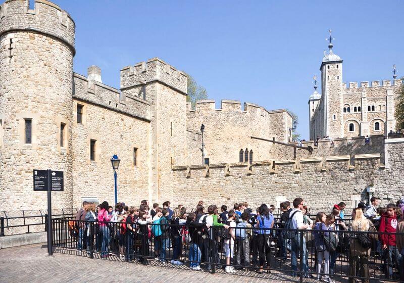 Tower of London Queue RF