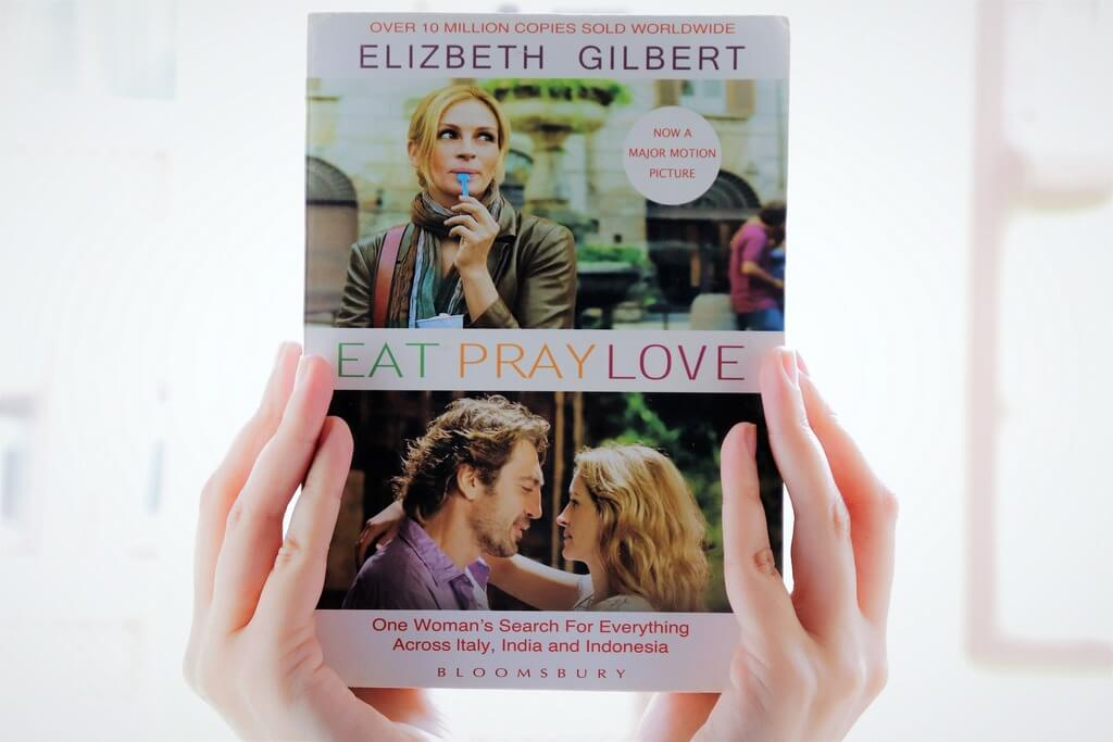 Eat Pray Love Travel Book RF