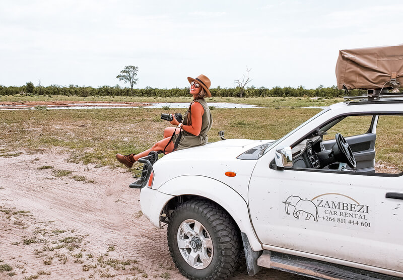 Self drive in Botswana