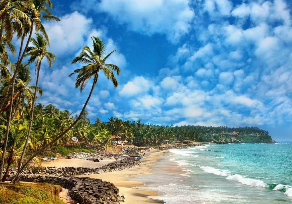 Kerala beach weather RF