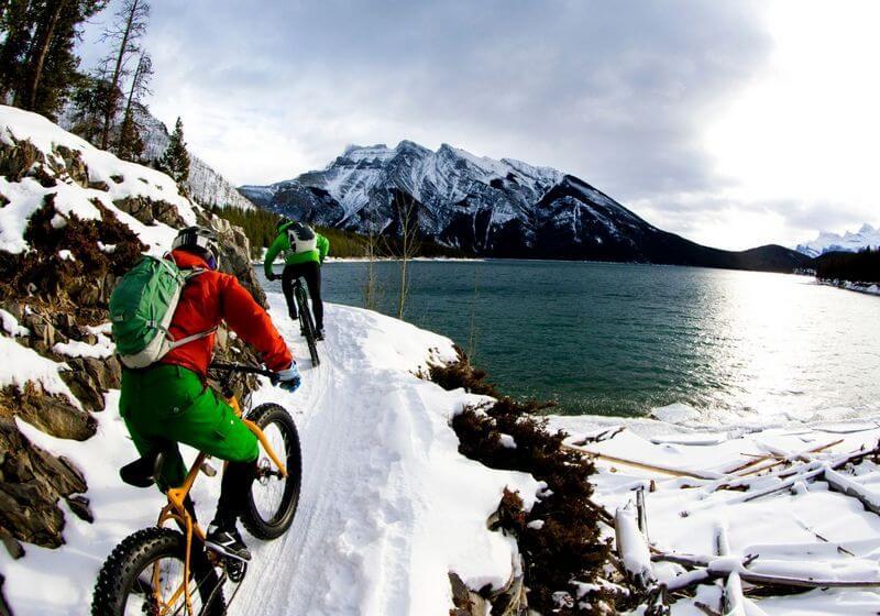 Snow bike biking RF