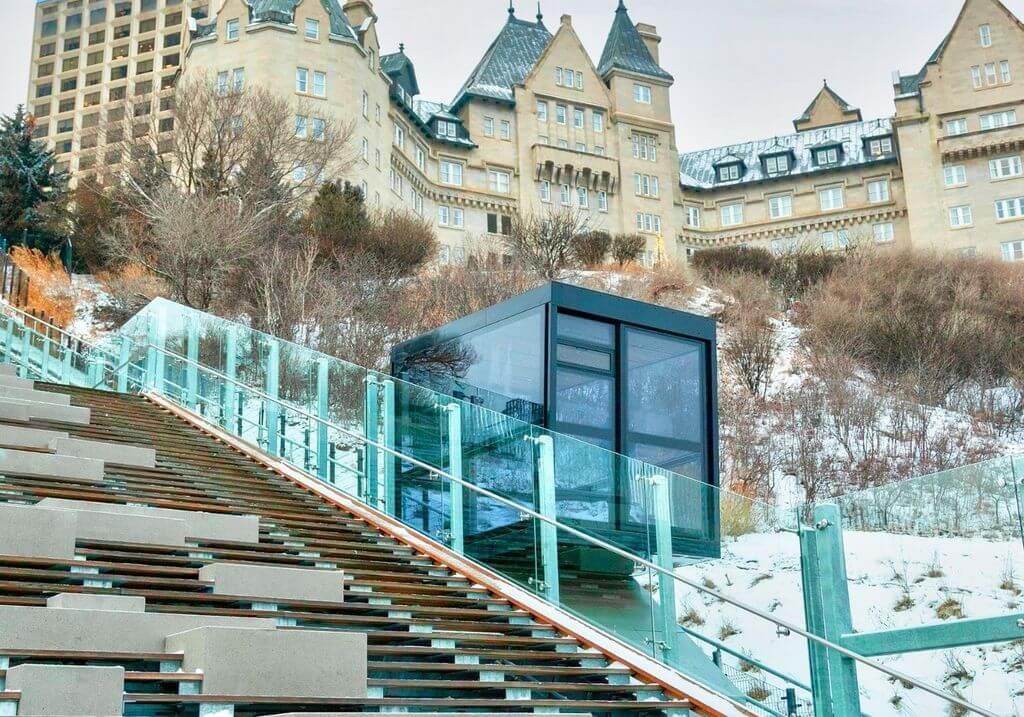Stairs edmonton funicular RF
