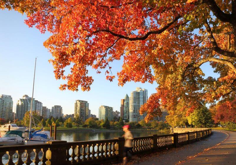 Stanley Park Seawall Vancouver Canada RF