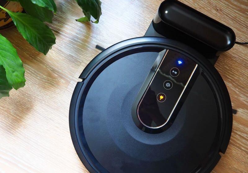 Robot mop vacuum home RF