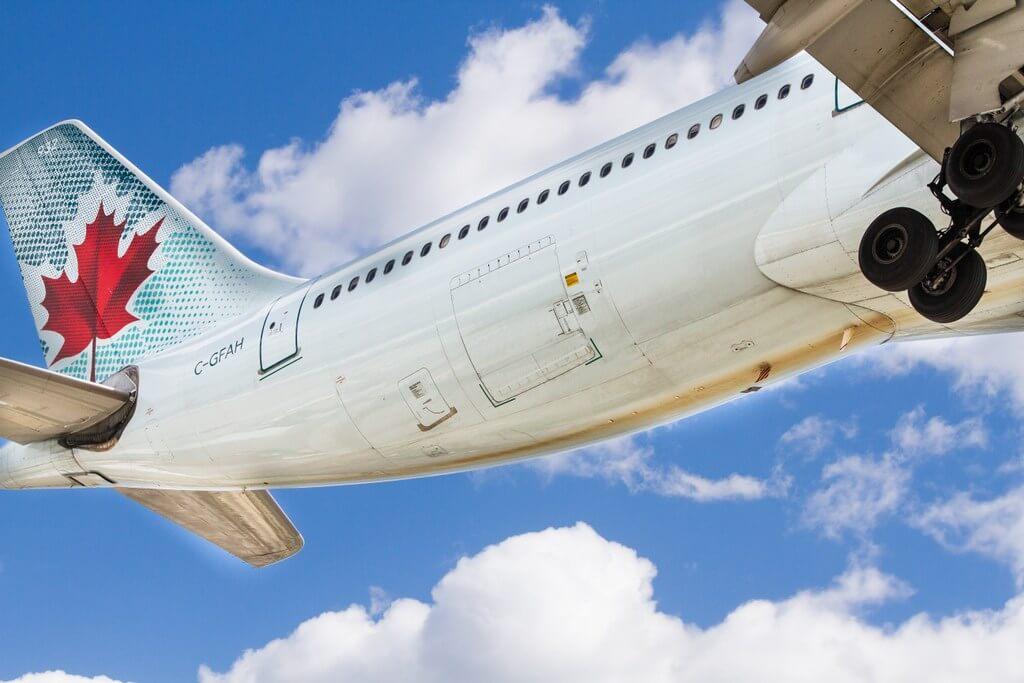 Air Canada plane flight travel RF