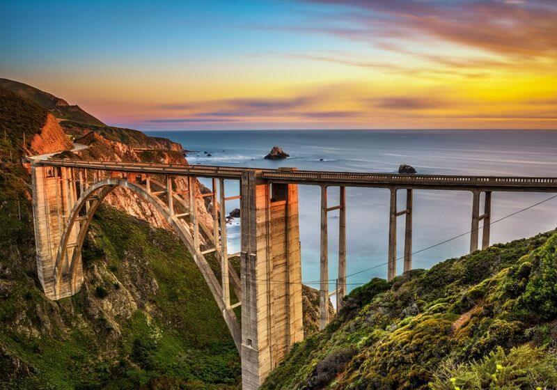 Bixby Bridge roadtrip California RF