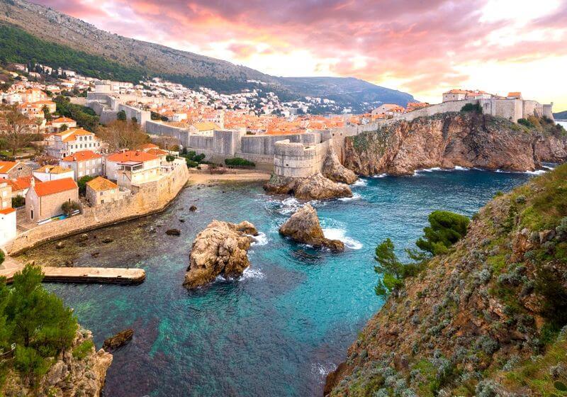 Dubrovnik Croatia RF