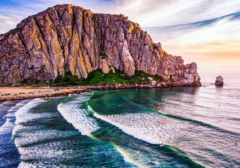 Morro Rock California RF