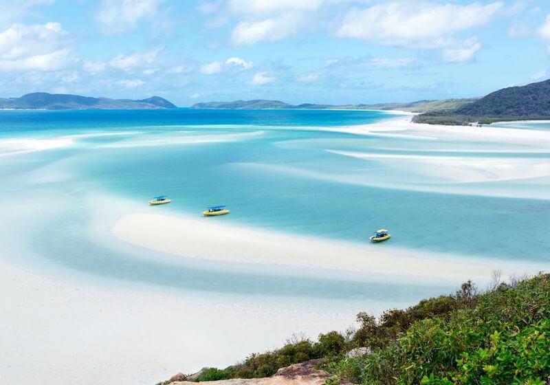 Whitsundays Australia water beach sail RF