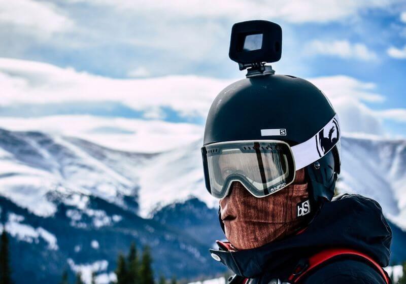 Action camera snow RF
