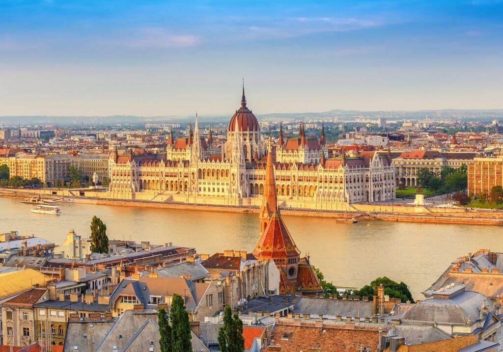 Budapest Hungarian Parliament RF