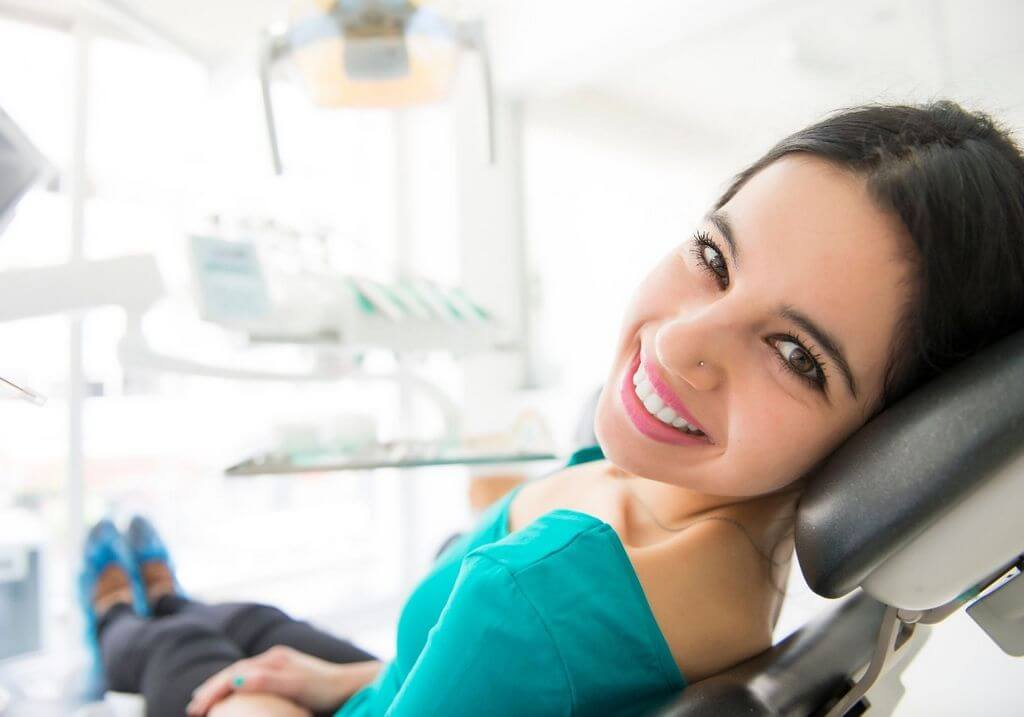 Dentist chair teeth RF