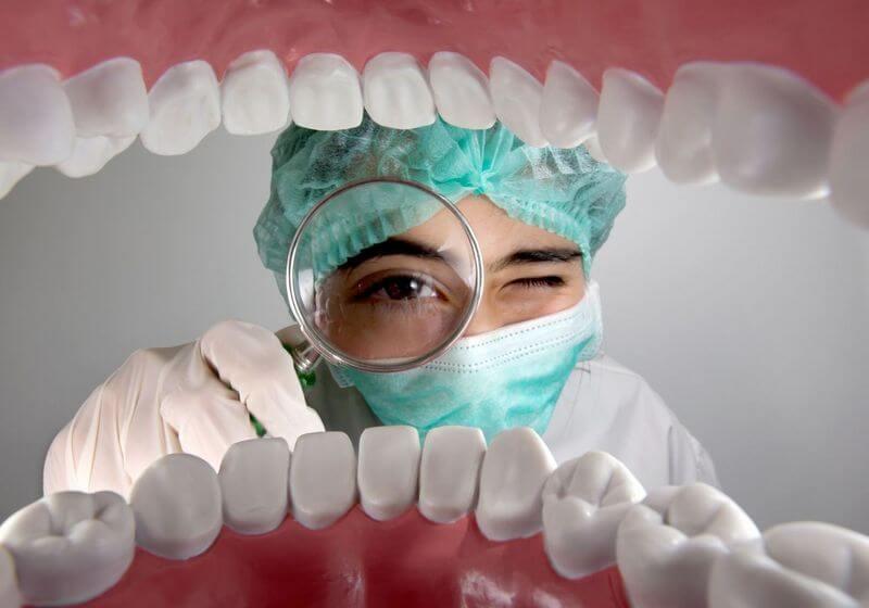 Dentist teeth RF