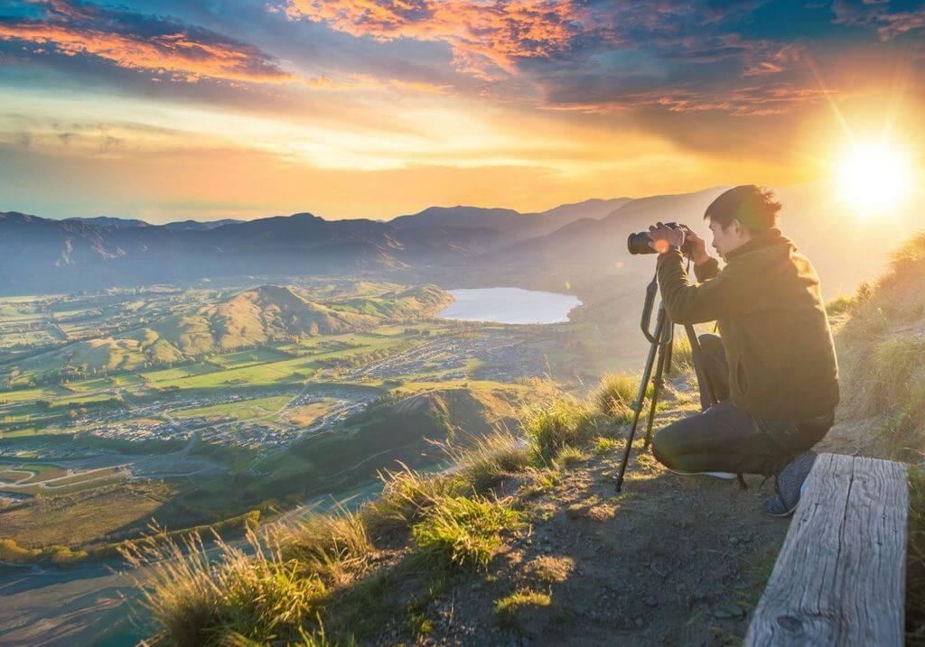 Photography in New Zealand camera RF