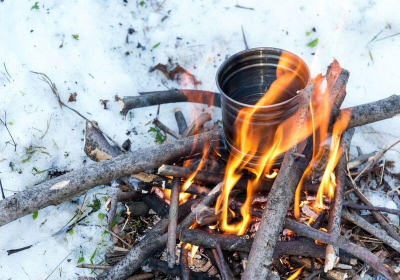 Campfire boil water RF