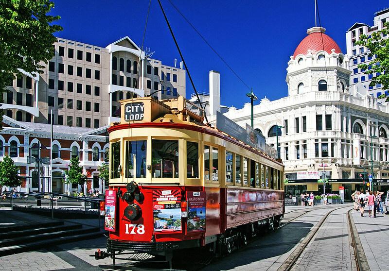 Christchurch NZ tram