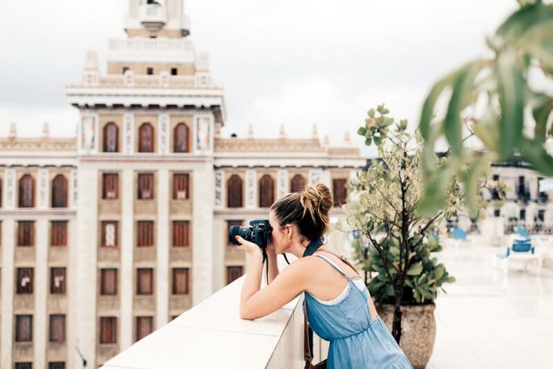 Photographer camera RF