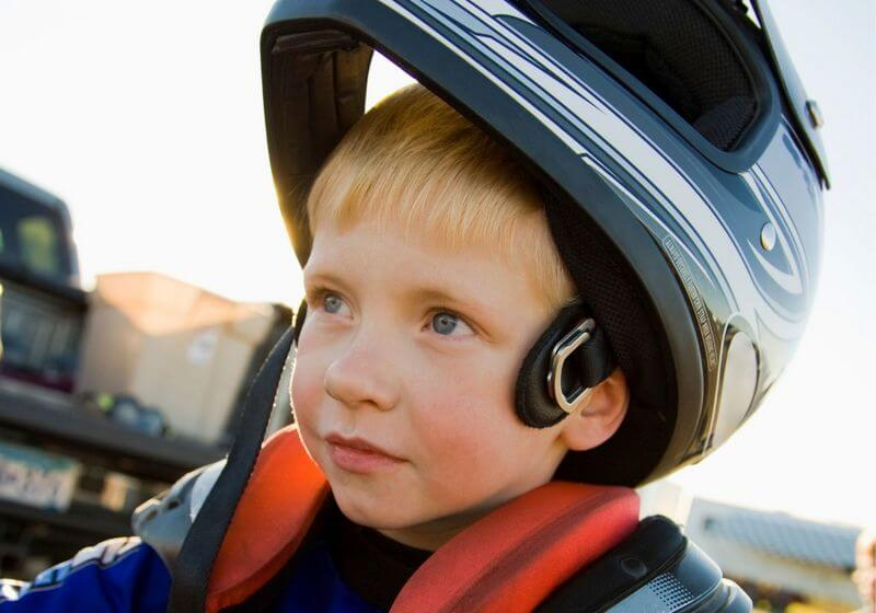 Dirt biking helmet RF