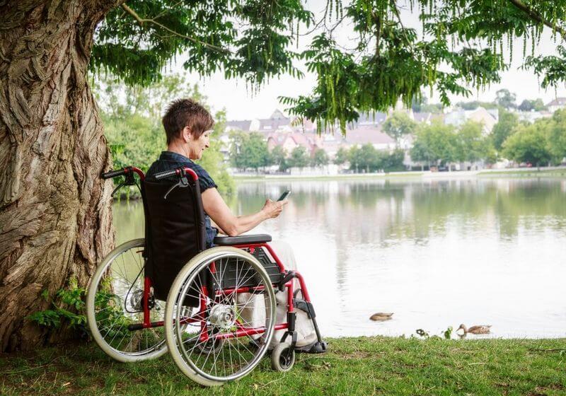 Wheelchair RF