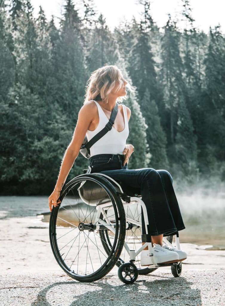 Wheelchair traveler RF