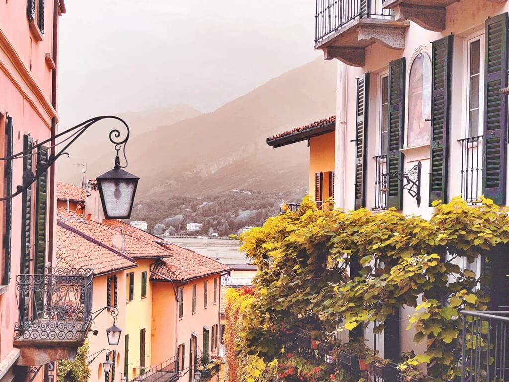 Bellagio Lake Como Italy RF