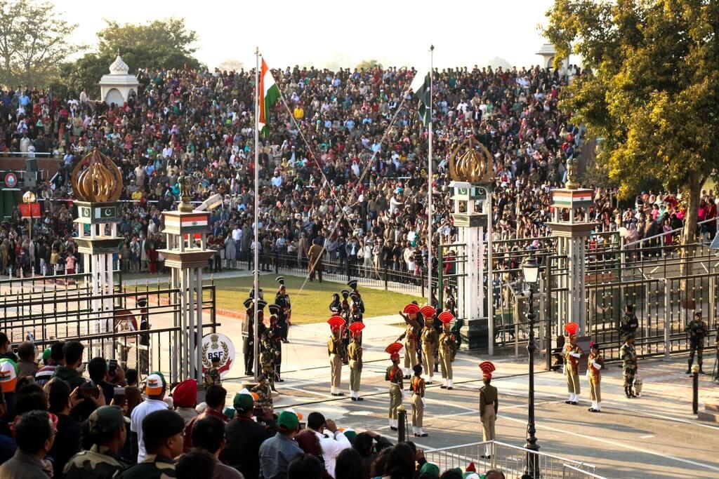 Pakistan India Border RF