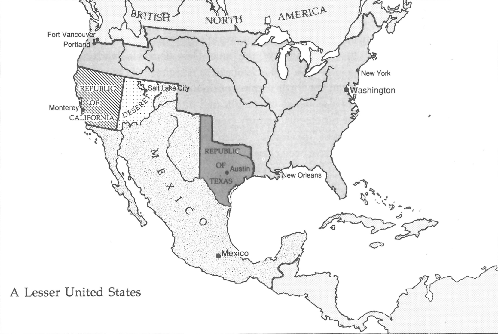 An Unrecognizable United States Mapping The Nation Blog