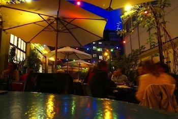 Maison Blunt Moroccan restaurant Zurich