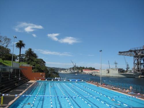 Andrew Boy Charlton Pool And Cafe In Sydney Swim Sunbathe And Enjoy The Smoothies