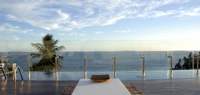 Infinity pool at the Zank Boutique Hotel Salvador de Bahia