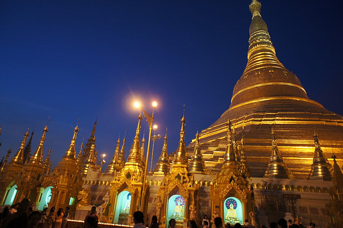 Shwedagon Rangoon Burma